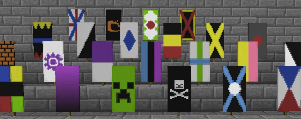 Banner Crafting Minecraft Tools