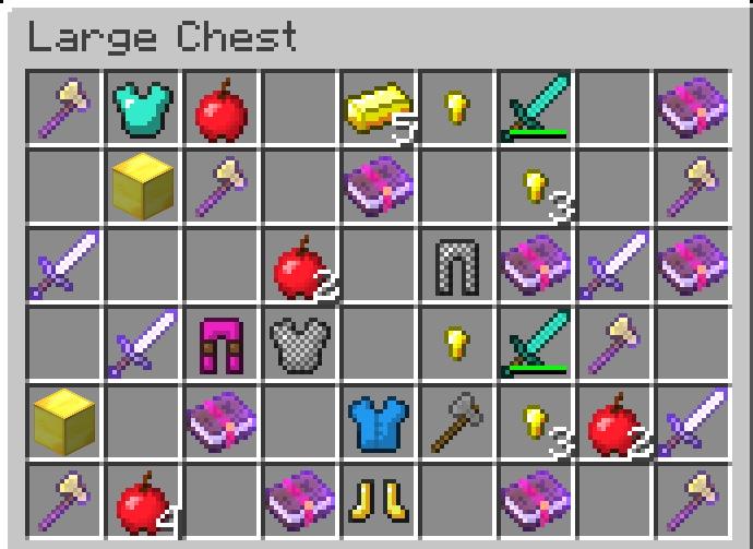 Loots Récompenses Minecraft Tools