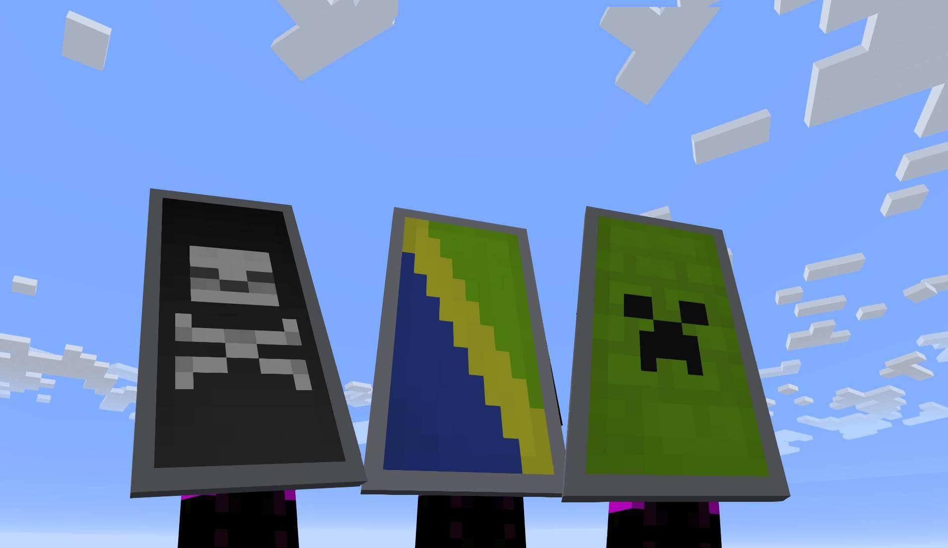 Shield Crafting Minecraft Tools