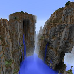 Minecraft customized world preset generator cavers delight mountain madness gumiabroncs Images
