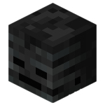 Wither Skeleton Skull<br>