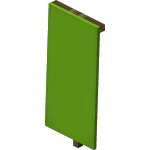 Lime Standing Banner<br>
