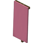 Pink Standing Banner<br>