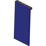 Blue Wall Banner<br>