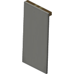 Light Gray Wall Banner<br>