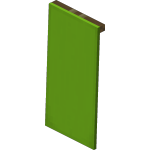 Lime Wall Banner<br>