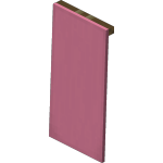 Pink Wall Banner<br>